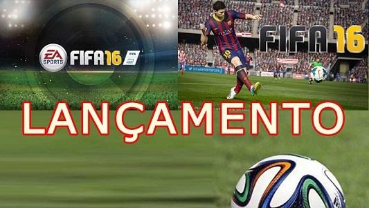 Lançamento FIFA 2016